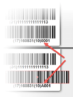 Common UDI labeling mistake: The barcode prints over the edge of the label