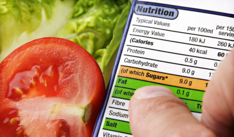 EU food regulation - nutrition labels