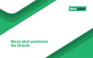 NiceLabel Oracle brochure
