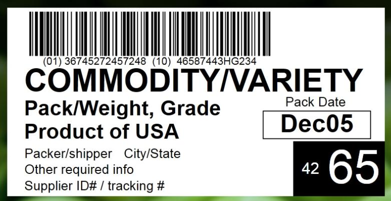 PTI barcode label printing | NiceLabel