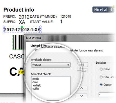bar code labeling