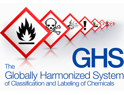 Chemical GHS labeling