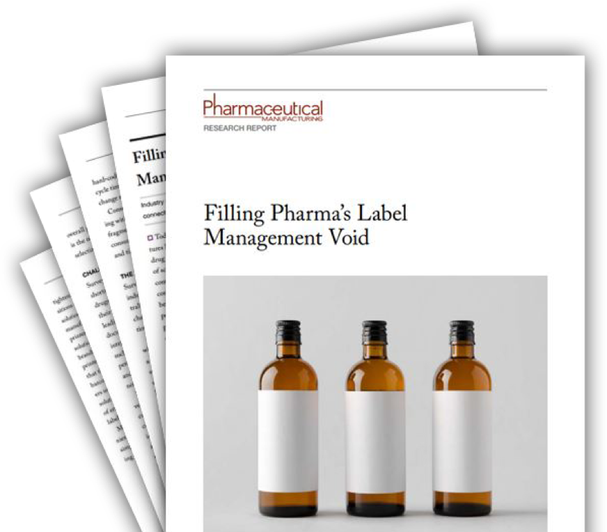 Pharmaceutical Manufacturing research report