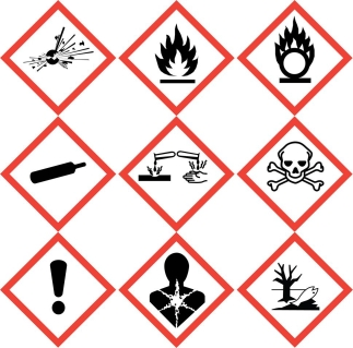 Chemical Labeling GHS Compliance Labeling NiceLabel - Ghs label template